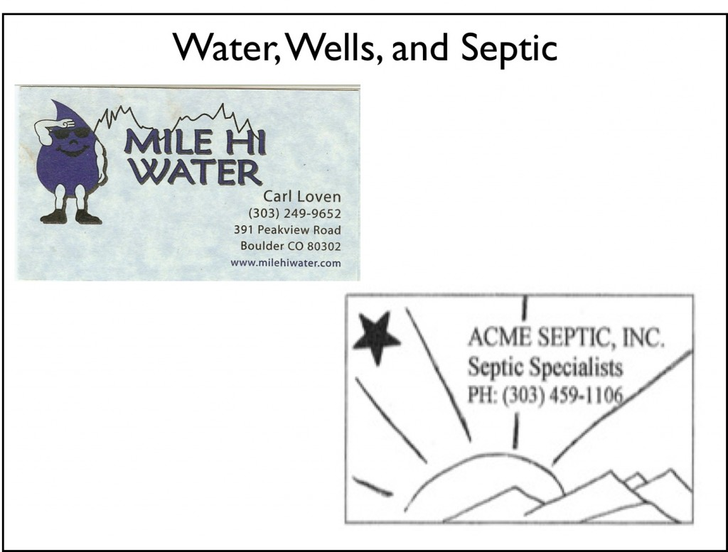 Water Wells Septic