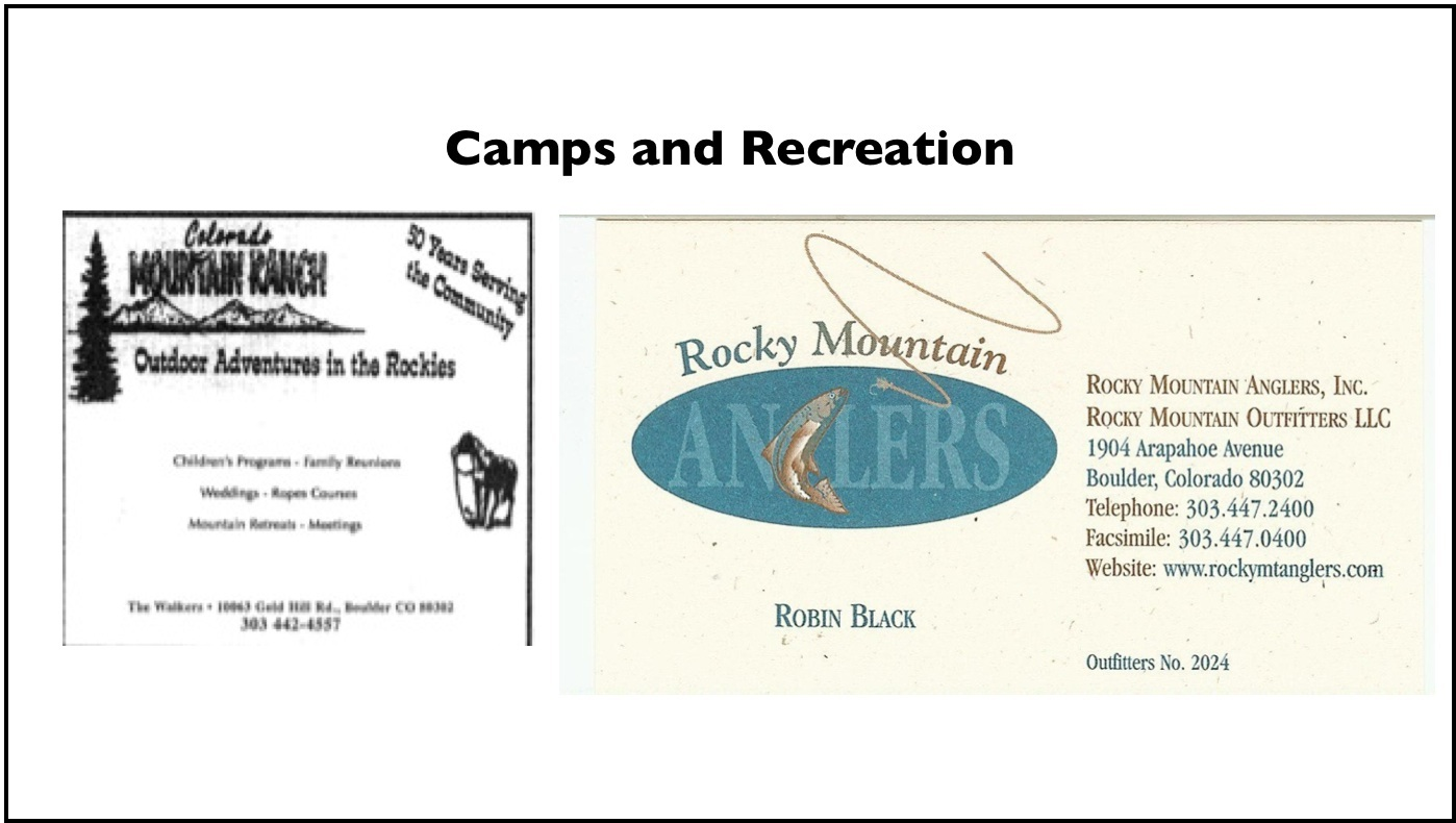 camp and Recreation